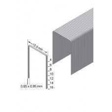 A06CNK 6mm staples Galvanised (80 series compatible)